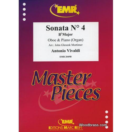 MARC REIFT VIVALDI ANTONIO - SONATA N°4 IN Bb MAJOR - HAUTBOIS & PIANO