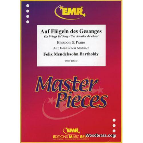 MARC REIFT MENDELSSOHN FELIX - AUF FLUGELN DES GESANGES - BASSON & PIANO