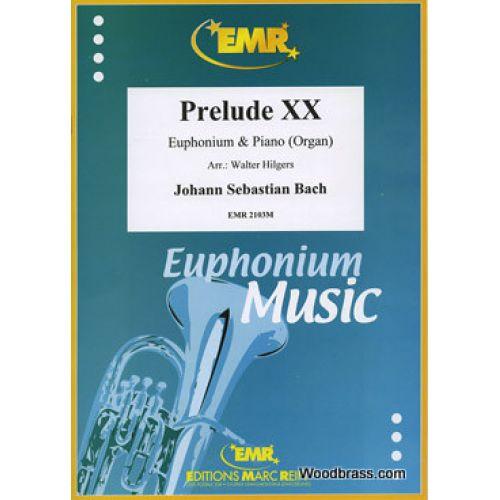MARC REIFT BACH J.S. - PRELUDE XX - EUPHONIUM & PIANO