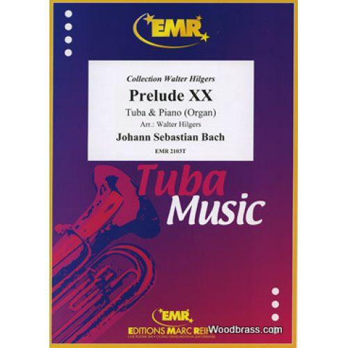 MARC REIFT BACH J.S. - PRELUDE XX - TUBA & PIANO