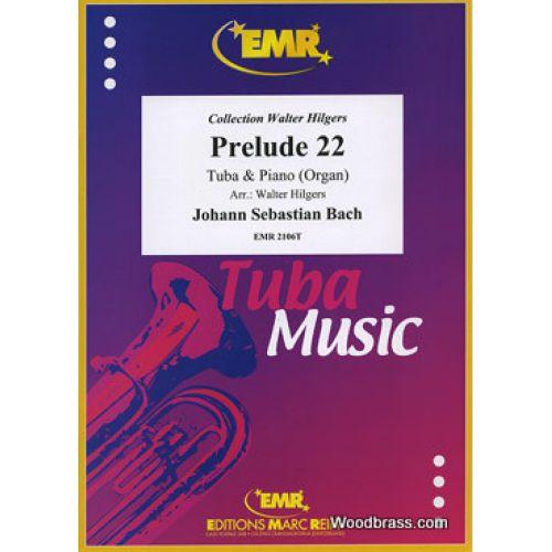 MARC REIFT BACH J.S. - PRELUDE XXII - TUBA & PIANO