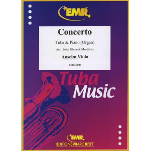 MARC REIFT VIOLA ANSELM - CONCERTO - TUBA & PIANO