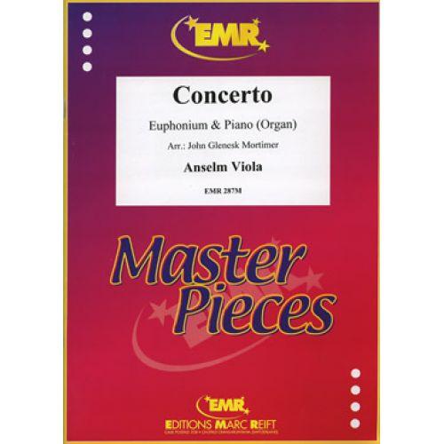 MARC REIFT VIOLA ANSELM - CONCERTO - EUPHONIUM & PIANO