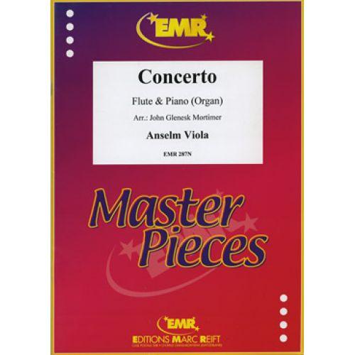 MARC REIFT VIOLA ANSELM - CONCERTO - FLUTE & PIANO
