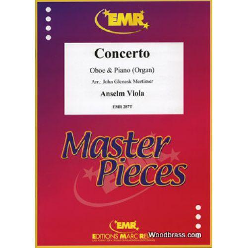 MARC REIFT VIOLA ANSELM - CONCERTO - OBOE & PIANO (ORGAN)