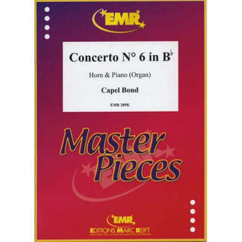 MARC REIFT BOND CAPEL - CONCERTO N°6 IN Bb MAJOR - HORN & PIANO
