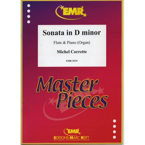 MARC REIFT CORRETTE MICHEL - SONATE IN D MINOR - FLUTE & PIANO