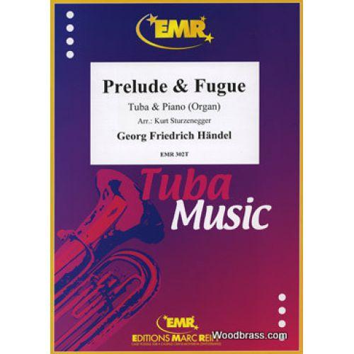 MARC REIFT HAENDEL G.F. - PRELUDE & FUGUE - TUBA & PIANO