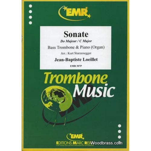 MARC REIFT LOEILLET J.B. - SONATE EN DO MAJEUR - TROMBONE BASSE & PIANO