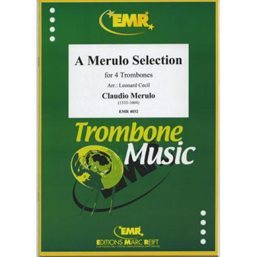 MARC REIFT MERULO CLAUDIO - A MERULO SELECTION - 4 TROMBONES