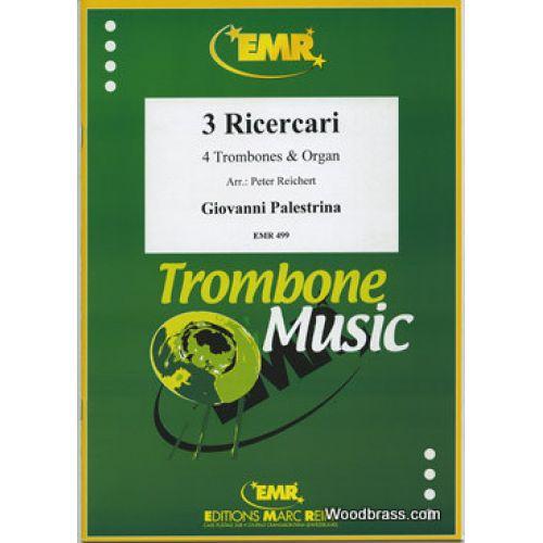 MARC REIFT PALESTRINA G.P. - RICERCARI IV/V/VII - 4 TROMBONES & PIANO