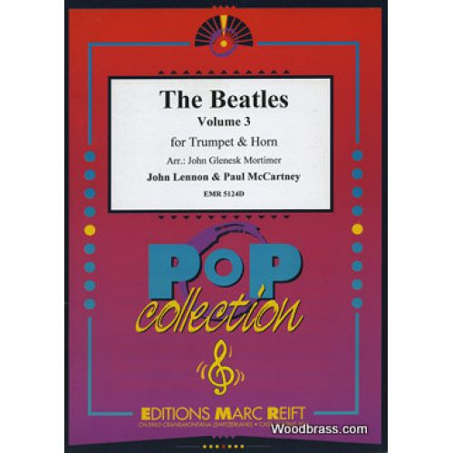MARC REIFT THE BEATLES - THE BEATLES VOL.3 - TROMPETTE & COR & PIANO