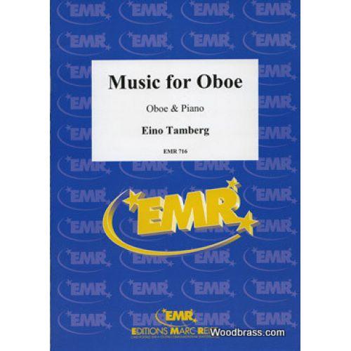 MARC REIFT TAMBERG EINO - MUSIC FOR OBOE OP.35 (1970) - OBOE & PIANO
