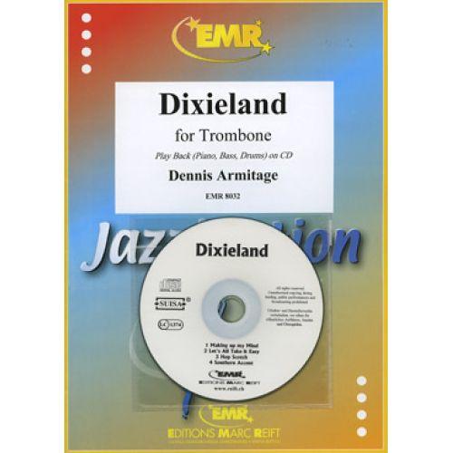 MARC REIFT ARMITAGE DENNIS - DIXIELAND - TROMBONE & PIANO + CD