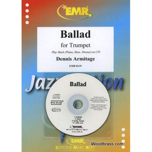 MARC REIFT ARMITAGE DENNIS - BALLAD - TROMPETTE & PIANO + CD
