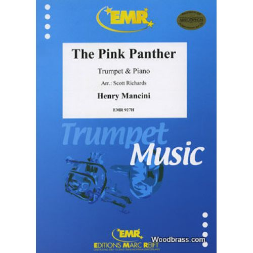 MARC REIFT MANCINI HENRY - THE PINK PANTHER - TRUMPET & PIANO