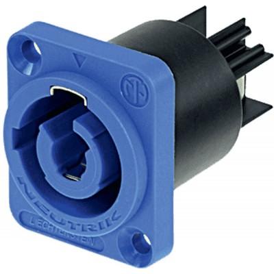 NEUTRIK POWERCON 20 A SECTOR CONNECTORS SUBBASE TYPE A BLUE
