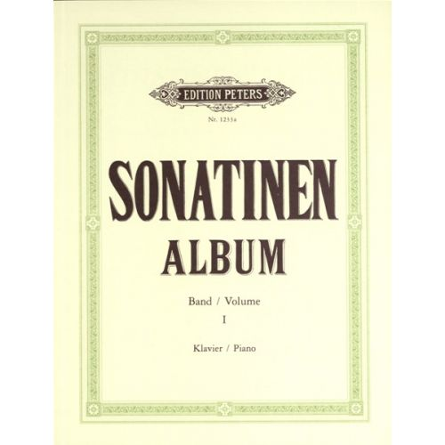 EDITION PETERS SONATINA ALBUM VOL.1 - PIANO
