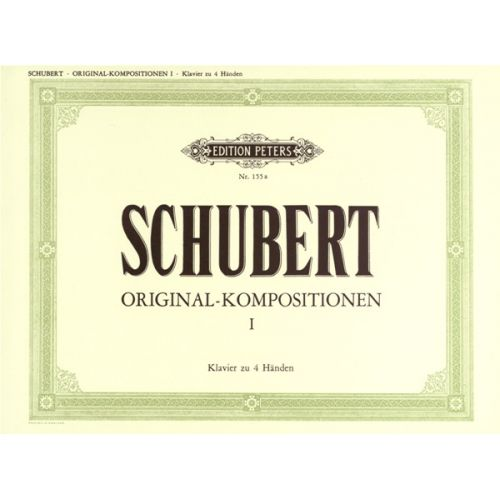 EDITION PETERS SCHUBERT FRANZ - PIANO DUETS (ORIGINAL) VOL.1 - PIANO 4 HANDS