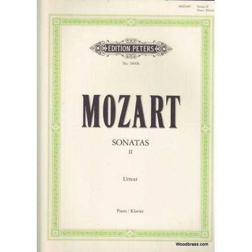 EDITION PETERS MOZART W.A. - SONATES VOL.2 (N°11-19) - PIANO