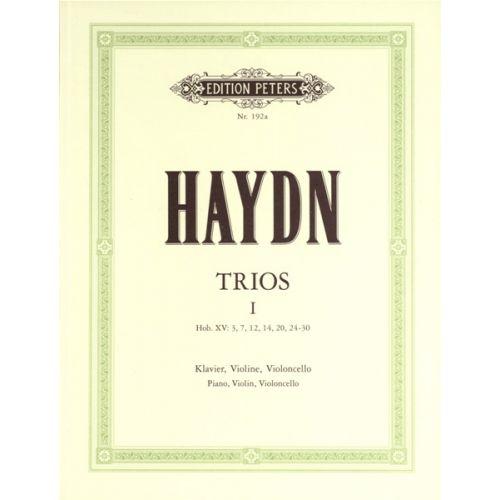 EDITION PETERS HAYDN JOSEPH - PIANO TRIOS, COMPLETE VOL.1 - PIANO TRIOS
