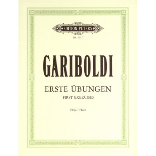 EDITION PETERS GARIBOLDI - 58 FIRST EXERCISES - FLUTE
