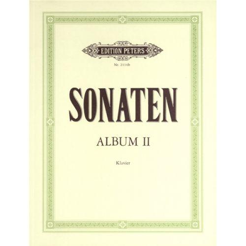 EDITION PETERS SONATA ALBUM VOL.II - PIANO