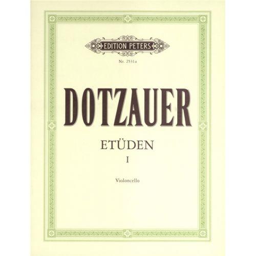 EDITION PETERS DOTZAUER FRIEDRICH - 60 STUDIES VOL.1 - CELLO
