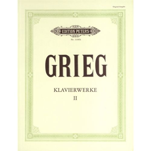 EDITION PETERS GRIEG EDVARD - PIANO WORKS VOL.2 - PIANO