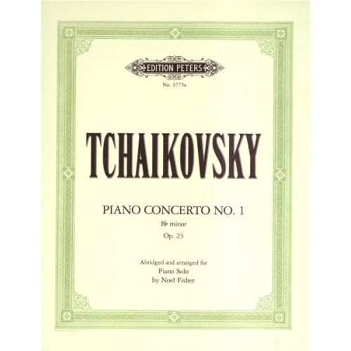 EDITION PETERS TCHAIKOVSKY PYOTR ILYICH - CONCERTO NO.1 IN B FLAT MINOR OP.23 - PIANO