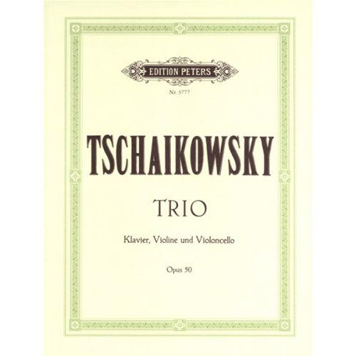 EDITION PETERS TCHAIKOVSKY PYOTR ILYICH - PIANO TRIO IN A MINOR OP.50 'RUBINSTEIN' - PIANO TRIOS