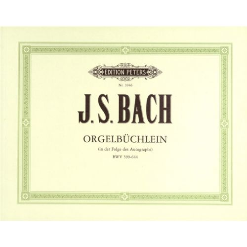 EDITION PETERS BACH JOHANN SEBASTIAN - ORGAN WORKS BASED ON CHORALES VOL.1 - ORGAN