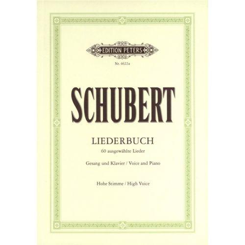 EDITION PETERS SCHUBERT FRANZ - LIEDERBUCH - VOICE AND PIANO (PER 10 MINIMUM)