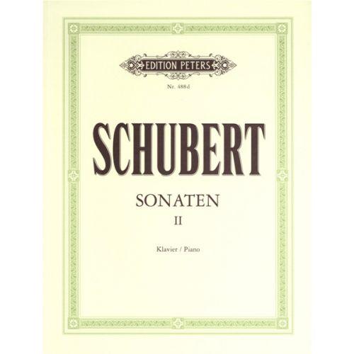 EDITION PETERS SCHUBERT FRANZ - SONATAS VOL.2 - PIANO