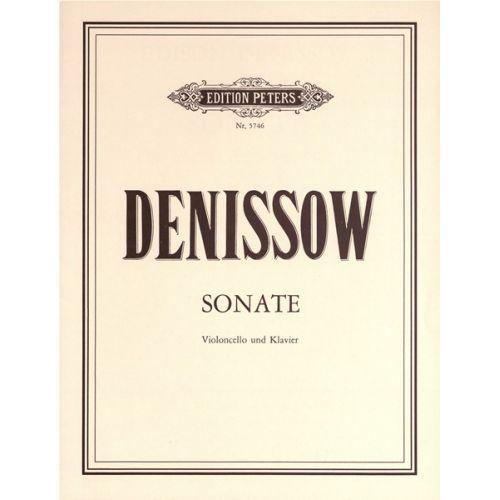 EDITION PETERS DENISSOV EDISON - SONATA - VIOLONCELLO AND PIANO