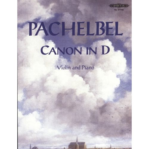 EDITION PETERS PACHELBEL JOHANN - CANON IN D - VIOLIN AND PIANO
