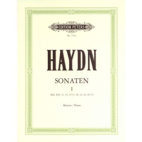 EDITION PETERS HAYDN JOSEPH - SONATAS VOL.1 - PIANO