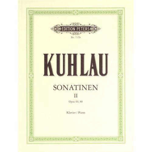 EDITION PETERS KUHLAU FRIEDRICH - SONATINAS VOL.2 - PIANO