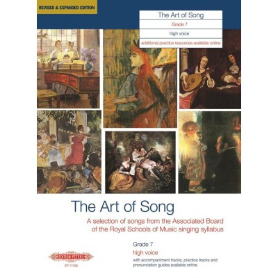 EDITION PETERS ART OF SONG (REVISED & EXPANDED EDITION) GRADE 7 HIGH VOICE - VOICE AND PIANO (PER 10 MINIMUM)
