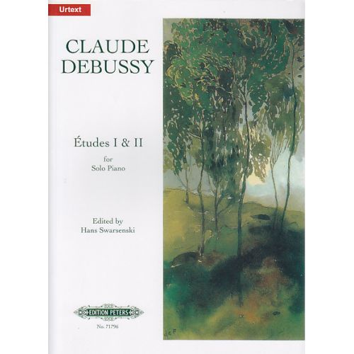 EDITION PETERS DEBUSSY C. - ETUDES - PIANO