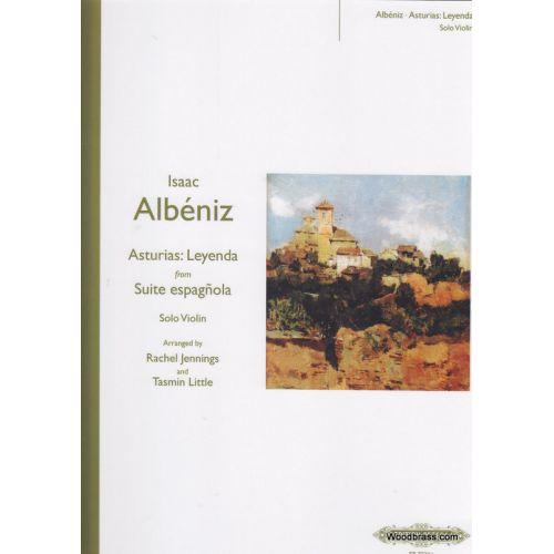 EDITION PETERS ALBENIZ I. - ASTURIAS, LEYENDA FROM SUITE ESPAGNOLE - VIOLON SOLO