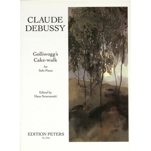 EDITION PETERS DEBUSSY CLAUDE - GOLLIWOG'S CAKE-WALK - PIANO