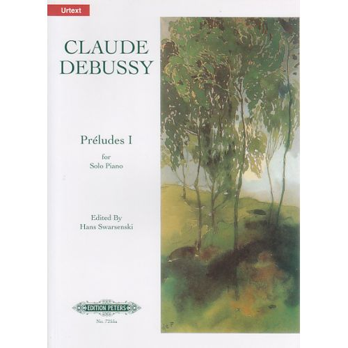 EDITION PETERS DEBUSSY C. - PRELUDES BOOK 1 - PIANO