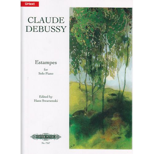 EDITION PETERS DEBUSSY C. - ESTAMPES - PIANO