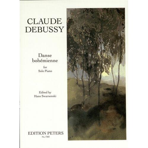 EDITION PETERS DEBUSSY CLAUDE - DANSE BOHEMIENNE - PIANO