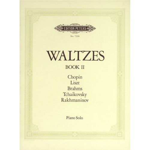 EDITION PETERS WALTZES VOL.2 - PIANO