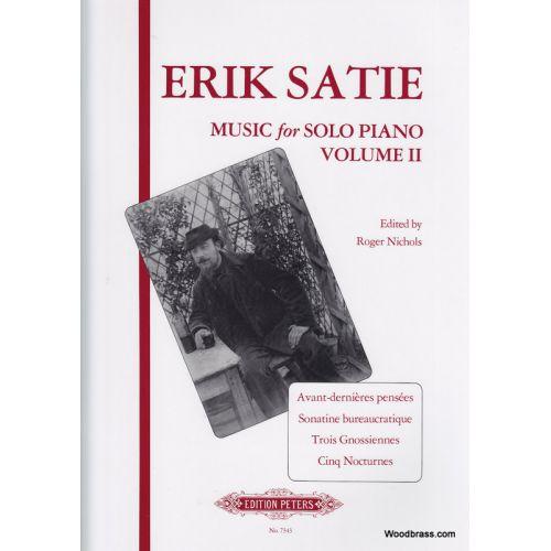 EDITION PETERS SATIE E. - MUSIC FOR PIANO VOL.2 - PIANO