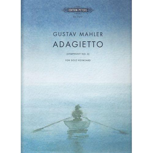 EDITION PETERS MAHLER G. - ADAGIETTO - PIANO