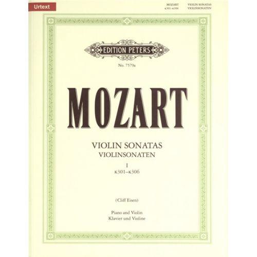 EDITION PETERS MOZART W.A. - VIOLIN SONATAS VOL.1 K301-306 - VIOLIN AND PIANO