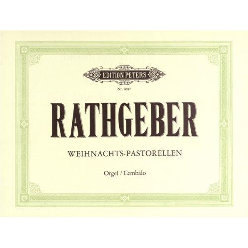 EDITION PETERS RATHGEBER JOHANN VALENTIN - 10 CHRISTMAS PASTORALES - ORGAN